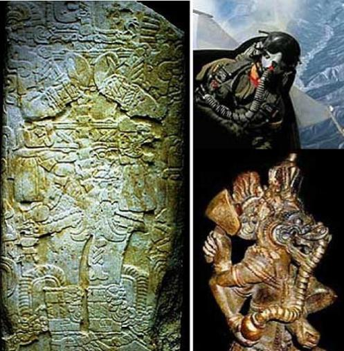 Les mystèrieuses représentations d'astronautes antiques Tikal-y-ganesha-de-india